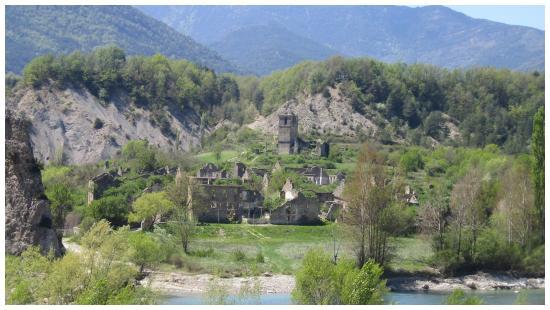 Camino de Boltaña a Jánovas